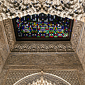 Alhambra Stained Glass Detail by Jane Rix