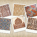 Alhambra Textures by Jane Rix
