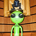 Alien In The Corner Booth by Richard Henne