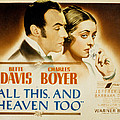 All This And Heaven Too, Charles Boyer by Everett