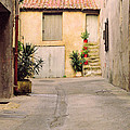 Alley In Arles France by Greg Matchick