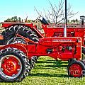Allis-chalmers Tractors by Diane E Berry