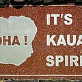 Aloha Kauai's Spirit by John Greaves
