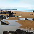 Alone On The Beach by C Lythgo