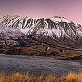 Alpenglow Over The Clyde River by Colin Monteath