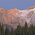 Alpenglow San Juan Mountains by Dean Pennala