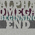 Alpha Omega Beginning End by Wanda Mcphee