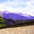 Alpine Wall by John Bowers
