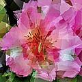 Alstroemeria Cubist Style by Dee Flouton