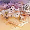 Altea La Vieja In Spain 11 by Miki De Goodaboom