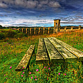 Alwen Reservoir by Adrian Evans