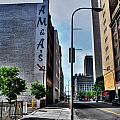 Am And As Downtown Buffalo by Michael Frank Jr