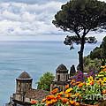 Amalfi Coast Spring Vista by George Oze