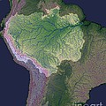 Amazon River Sources by Nasa