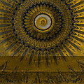 Amber Wheel I by Ricki Mountain