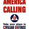 America Calling -- Civilian Defense by War Is Hell Store