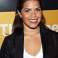 America Ferrera At A Public Appearance by Everett