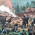 American Civil War, Battle Of Cold by Photo Researchers