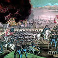 American Civil War, Capture Of Atlanta by Photo Researchers