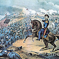 American Civil War, Storming Of Fort by Photo Researchers