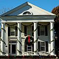 American Colonial Architecture Christmas  by LeeAnn McLaneGoetz McLaneGoetzStudioLLCcom