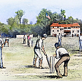American Cricket, 1882 by Granger
