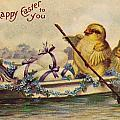 American Easter Card by Granger