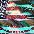 American Flag 2 by Ron Bissett