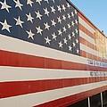 American Flag At Nathan's by Rob Hans