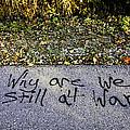 American Graffiti Why Are We Still At War by LeeAnn McLaneGoetz McLaneGoetzStudioLLCcom