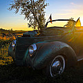 American Hot Rod Sunset by Steve McKinzie