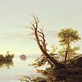 American Lake Scene by Thomas Cole