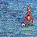 American Shoal Lighthouse by Patrick M Lynch
