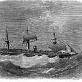 American Steamship, 1870 by Granger