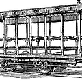 American: Streetcar, 1880s by Granger