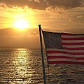 American Sunset by Lillie Wilde