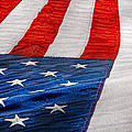 Americana - Flag - Stars And Stripes  by Mike Savad