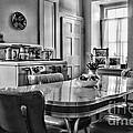Americana - 1950 Kitchen - 1950s - Retro Kitchen Black And White by Paul Ward