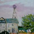 Amish Farmhouse by Francine Frank