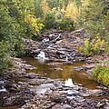 Amity Creek Autumn 2 by John Brueske