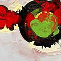 Amorphous Movement Of Wa-ja-rata Mural Study 111347-61649 by Cliff Spohn
