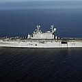 Amphibious Assault Ship Uss Peleliu by Stocktrek Images