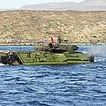 Amphibious Assault Vehicle Crewmen by Stocktrek Images