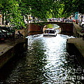 Amsterdam By Boat by Lainie Wrightson