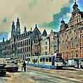 Amsterdam Tour  Streets 1 by Yury Malkov