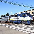 Amtrak Train 7d7310 by Wingsdomain Art and Photography