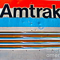 Amtrak Train by Chuck Taylor