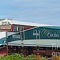 Amtraks Cascade Engine by Randy Harris