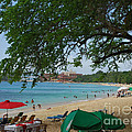 An Active Sosua Beach In Dr by Heather Kirk