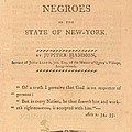 An Address To The Negros In The State by Everett